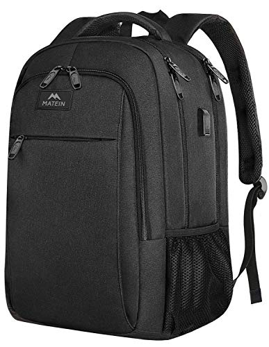 Business Travel Backpack, Matein Laptop Backpack with USB...