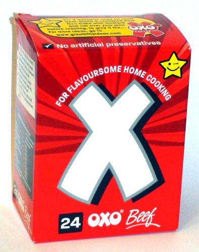 Oxo 24 Beef Stock Cubes 142g - Rindfleisch Brühwürfel