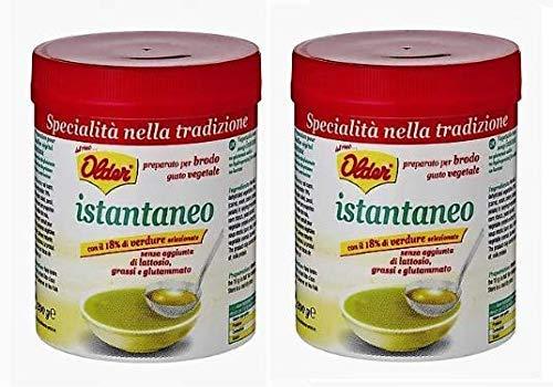 Older Preparato per Brodo Gusto Vegetale Istantaneo - 2 x 200 g, Totale: 400 g