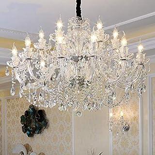 CHOUCHOU Apliques Pared candelabro de Cristal Plata Claro K9 araña de Cristal Claro Colgante Luces Accesorio Boda Decoración lámpara Colgante, Color de Pantalla: 1 Brazo lámpara de Pared, Número d