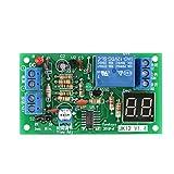 Rele Temporizzato, Akozon Modulo Relè Temporizzatore Display Countdown Timer Module DC 12V Ritardare Disattivare Modulo Interruttore a Relè