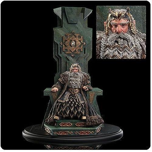 Der Hobbit Eine unerwartete Reise Statue 1 6 K g Thror auf seinem Thron 46cm