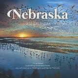 "Nebraska 2022 Calendar: From January 2022 to December 2022 - Square Mini Calendar 7x7"" - Small Gorgeous Non-Glossy Paper"