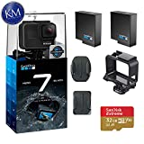 GoPro Hero 7 (Black) Action Camera w/ 2 Extra Batteries and 32GB Memory Card