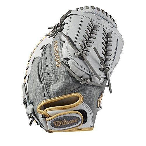 """Wilson A2000 CM34 SuperSkin 34"""" Catcher's Fastpitch Mitt - Right Hand Throw"""