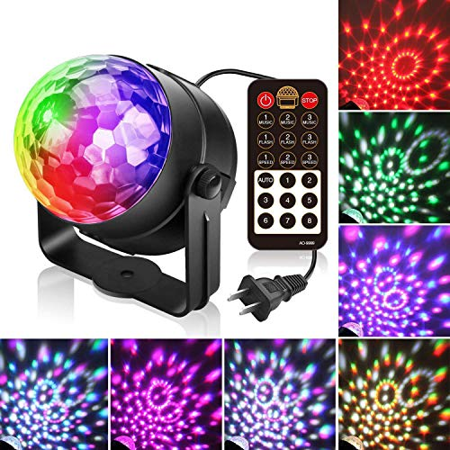 Disco-Lichter, Mini-Party-Lichter, Ferngesteuerte DJ-Lichter, 5-Farben-Blitzlichter, LED-Bühnenlichter, Geeignet Für Festliche Partys, Hochzeitsdekorationen Oder Bars