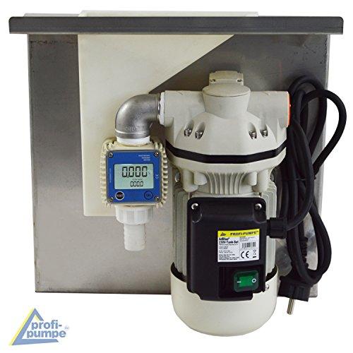 AdBlue® TANK SET 230V PUMPEN SET HARNSTOFF-PUMPE, Chemikalien-Pumpe, Elektrische pumpe für Urea, mit Saug- und Druckschlauch, Zapf-Pistole und Zubehör, mit KUPFERWICKLUNG