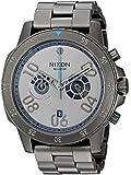Nixon Men's 'Ranger Chrono SW, Millenium Falcon Gunmetal' Quartz Stainless Steel Casual Watch,...
