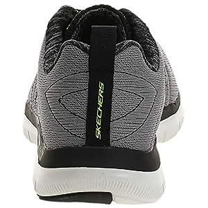 Skechers Sport Men's Flex Advantage 2.0 the Happs Oxford,light gray/black,12 2E US