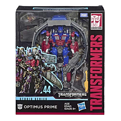 Transformers Toys Studio Series 44 Leader Class Dark of The Moon Movie Optimus Prime Action Figure - Kids Ages 8 & Up, 8.5""