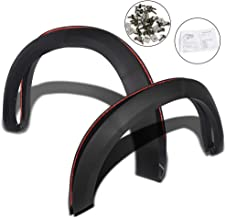 Fender Flares Cover Protector Fit For DODGE RAM 1500 2009-2018 Smooth Factory Style 2010 11 12 13 14 15 16 17 Black