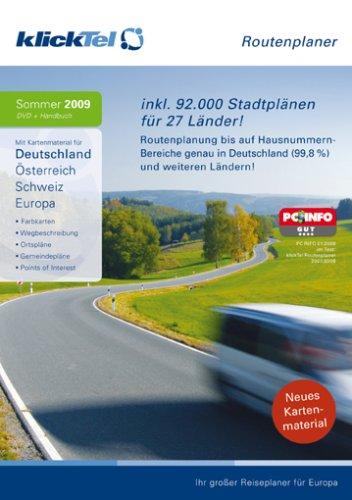 klickTel Routenplaner Sommer  2009