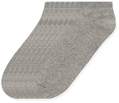 Marca Amazon - find. Calcetines Hombre, Pack de 7, Gris (Grey Marl), 39-43.5 EU, Label: 6-9.5 UK