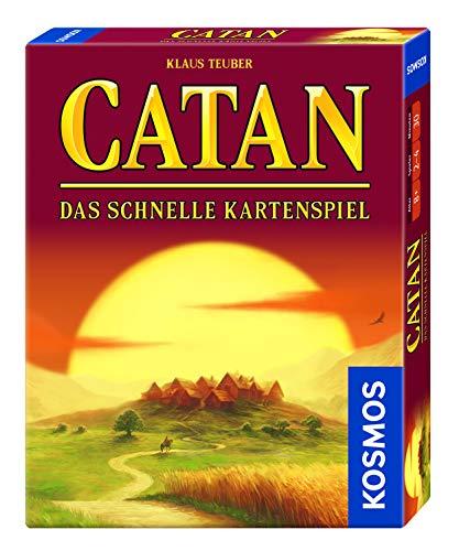 Kosmos 740221 CATAN - Das schnelle Kartenspiel, Taktik und Schnelligkeit, ab 8 Jahren