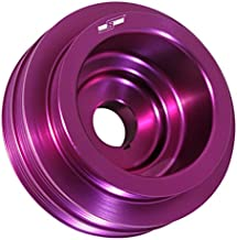 Purple Anodized Aluminum Light Weight Under Drive Crank Pulley For B16A B18C B20 Engines