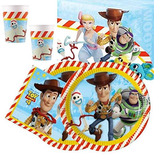 Disney Toy Story 4 - Vajilla para 16 unidades