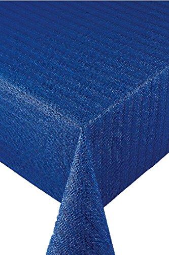 Friedola Campingartikel Tischdecke Milano 160cm Blau, 503/331