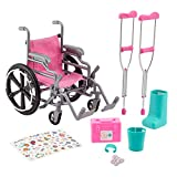 Journey Girls Wheelchair Playset - Amazon Exclusive