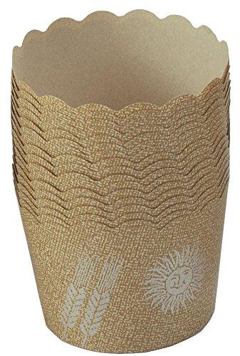 下村企販 マフィンカップ マフィン型 50枚 【日本製】 耐熱 クラフト紙 オーブン対応 ケーキカップ 15726