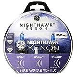 GE Lighting 69860 H7 55NHX/BP2 Nighthawk Xenon Replacement Bulb, 2-Pack