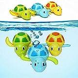 Deliu Kleine Schildkröte Baby Bad Uhrwerk Wicklung Schwimmen Schildkröte Baby Pool Spielzeug Zufällig