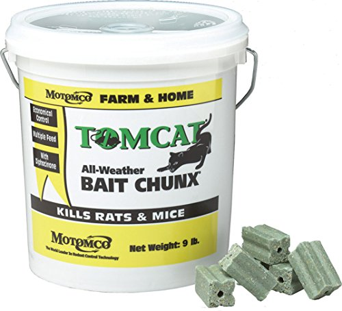 Motomco Tomcat All Weather Bait Chunx, 9-Pound