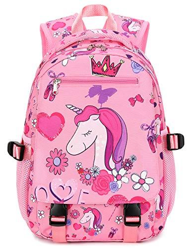 Preschool Backpack for Girls Backpack Kids Kindergarten Bookbag Water Resistant (Pink Star) Product Name