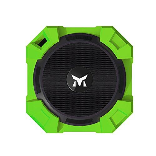 Wireless-Lautsprecher Monstercube Armor Tragbarer Lautsprecher,Bluetooth Lautsprecher Bass Enhance Technologie/Silikon-Gehäuse,Grün