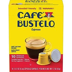 Cafe Bustelo Dark Roast Espresso 40 Capsules