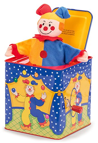 Schylling SC-JJB Jester Jack In The Box Toy