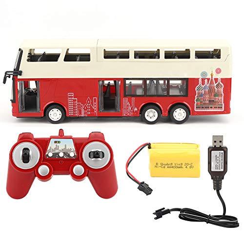 Zetiling Autobús de Control Remoto, Carro eléctrico RC con Puertas Que se...