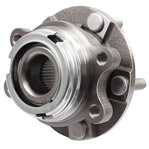 GDSMOTU frente 513296 rodamiento de rueda compatible con 5 lengüetas w/ABS 2013 para Infiniti JX35