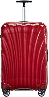 Samsonite 新秀丽 Cosmolite系列 拉杆箱 V22 红色 20英寸 万向轮 CURV材质 TSA海关密码锁(美国品牌 )