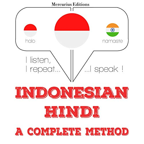 Indonesian – Hindi. A complete method cover art