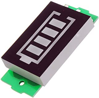 ARCELI Lithium Battery Pack Power Indicator Board 6/12/24/36/48V Storage Electric Vehicle Battery Level Display(1-6s)