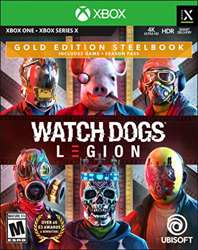 Watch Dogs Legion - Xbox One Gold Steelbook Edition Edition