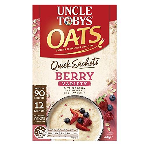 Onkel Toby Schnelle Hafer Berry Variety Pack Frühstücksflocken 12 Pack