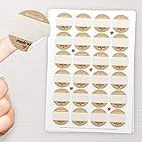 48x'Homemade, Made with love' Sticker: Aufkleber für Marmelade, Likör, Eingemachtes oder als...