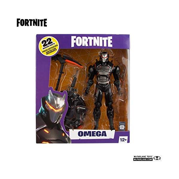 Heo Gmbh- Fortnite Figura Articulada Omega, Multicolor, Talla Única (MC Farlane MCF10606-0) 4