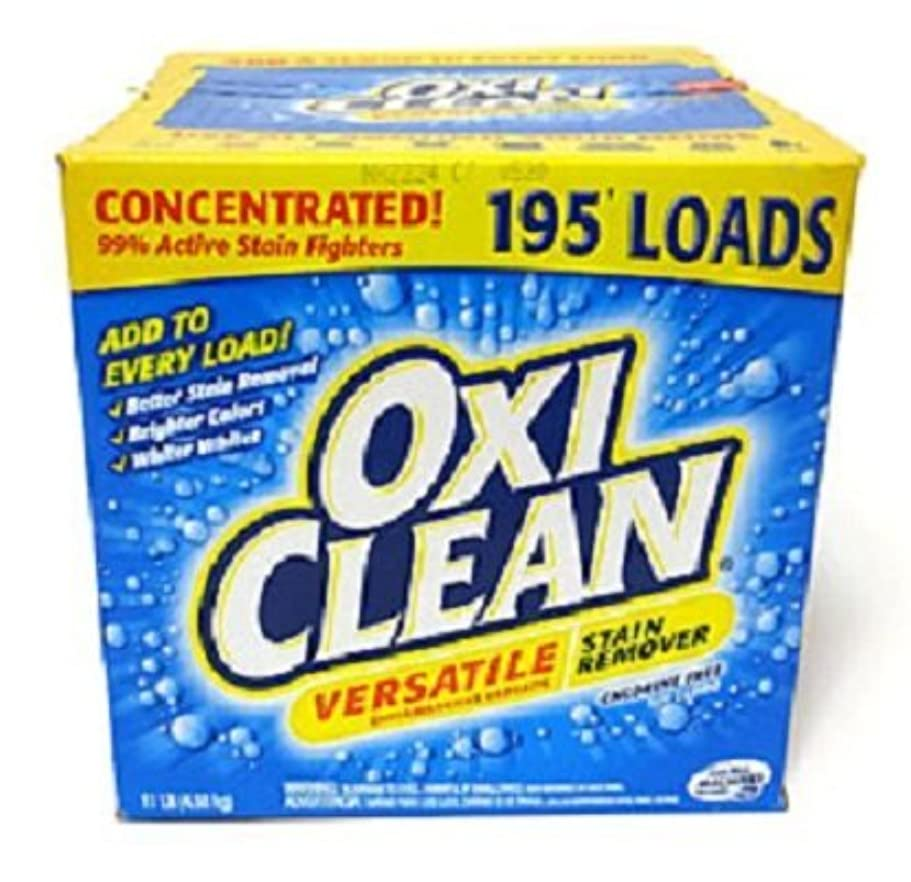 材料役員副産物OXICLEAN(オキシクリーン) STAINREMOVER 4.98kg シミ取り 漂白洗剤 2箱