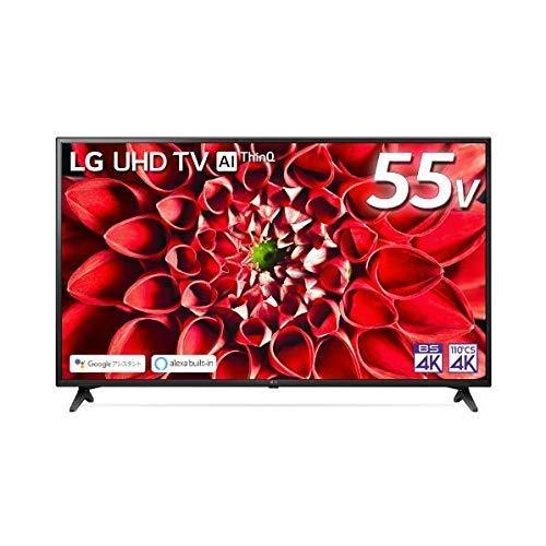 LG電子 55V型4Kチューナー内蔵4K対応液晶テレビ 55UN7100PJA