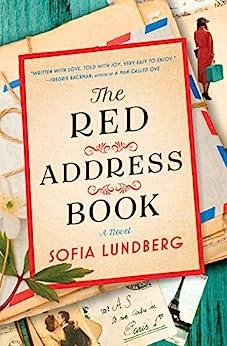 The Red Address Book by [Sofia Lundberg]