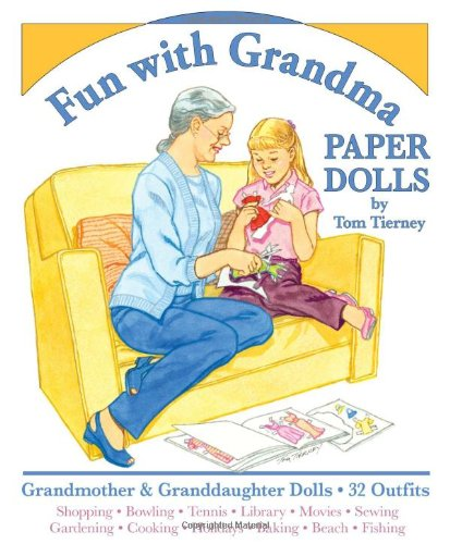 Fun with Grandma Paper Dolls