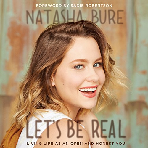 Let's Be Real audiobook cover art