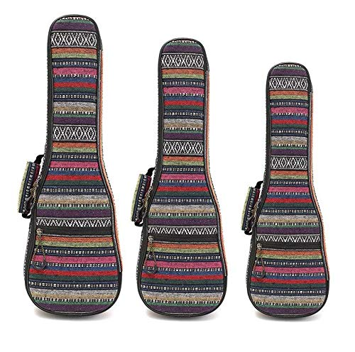 Guitar Parts 21 23 26 Inch Ukulele F Hand Max 62% OFF Strap Double Bag Carry Arlington Mall