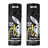 Playboy New York Deo Body Spray Mann, 2er Pack (2 x 150...