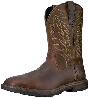 Ariat Men's Groundbreaker Boot, Brown, 11 D US