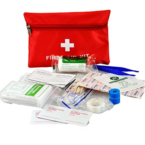 Waterproof Mini Outdoor Travel Car First Aid kit Home Medical Emergency Survival...