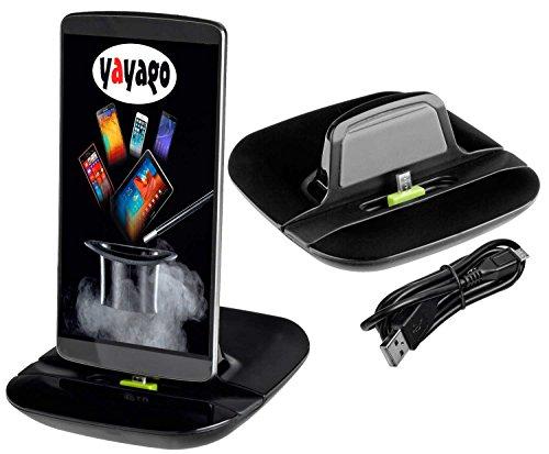Yayago Base de carga y sincronizacción para Microsoft Lumia 640 / 640 Dual / 640 XL / 640 XL Dual / 640 XL LTE
