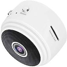KESOTO A9 1080P Full HD Mini IP Camera DVR Recorder Motion Detection Loop Recording, 150°Wide-Angle - White, 43 x 35 x25mm